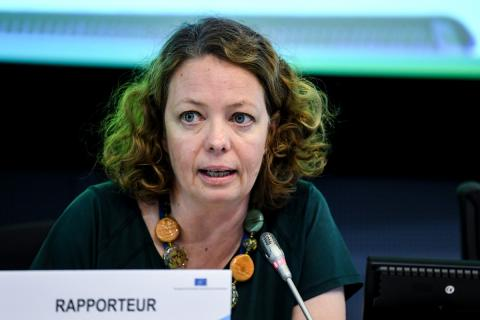 Judith Vorbach, consejera del CESE