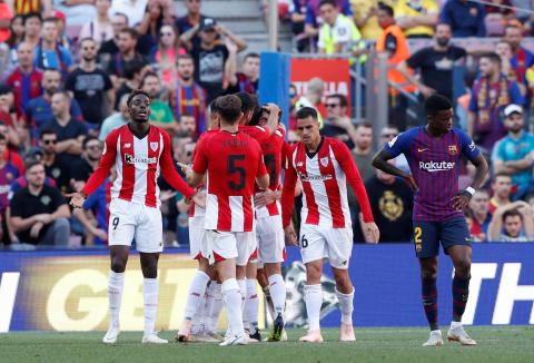 Jugadores del Athletic de Bilbao