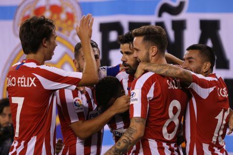 Jugadores del Atlético de Madrid