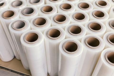 láminas de plástico transparente