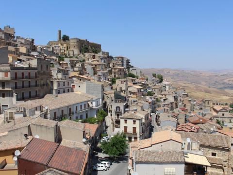 Cammarata, Sicily.