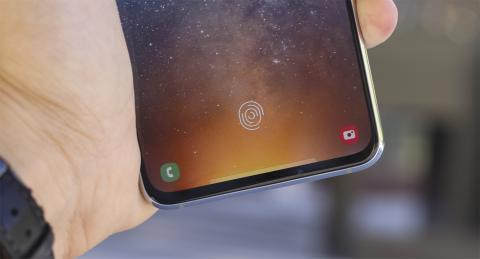 Lector de huellas del Samsung Galaxy A80