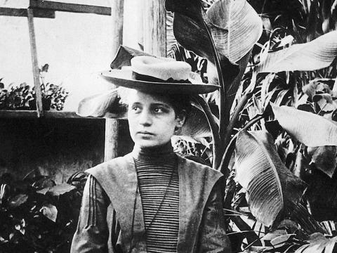 Lise Meitner en 1906.