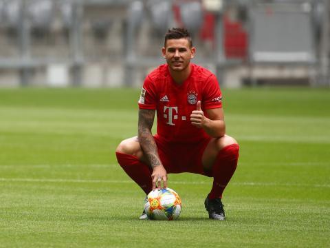 Lucas Hernández, defensa del Bayern de Munich