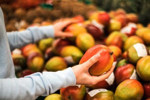 Mango, esta fruta tropical no solamente está llena de carotenoides que aumentan el bronceado