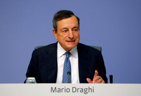 Mario Draghi, gobernador del Banco Central Europeo.