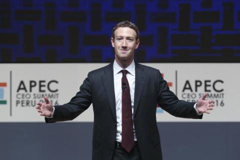 Mark Zuckerberg, chairman and CEO of Facebook.