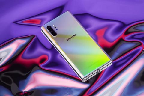 El nuevo Galaxy Note 10 Plus es el último y mejor de todos los móviles de Samsung.