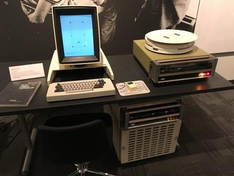 Un ordenador Xerox