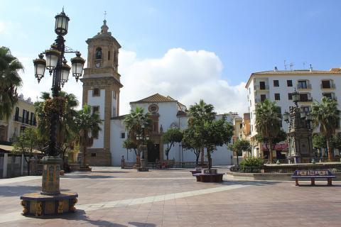 Plaza Alta de Algeciras, en Cádiz (Andalucía)