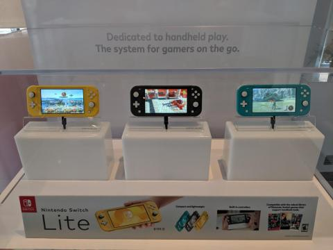 The portable-only Nintendo Switch Lite is on sale now for $200.