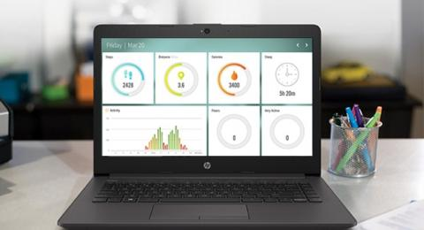 Portátil HP 250 de uso profesional con características básicas