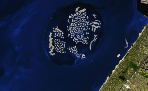 Proyecto El Mundo consiste en 300 islas artificiales en Dubái.