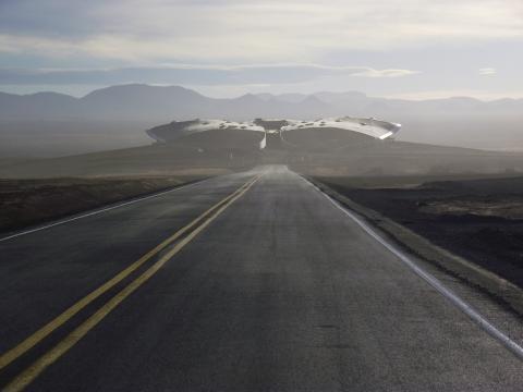 El puerto espacial de Virgin Galactic