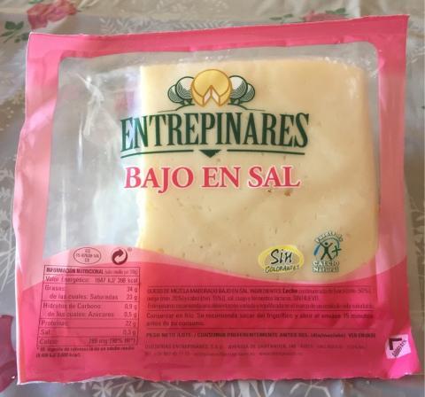 queso mercadona bajo en sal