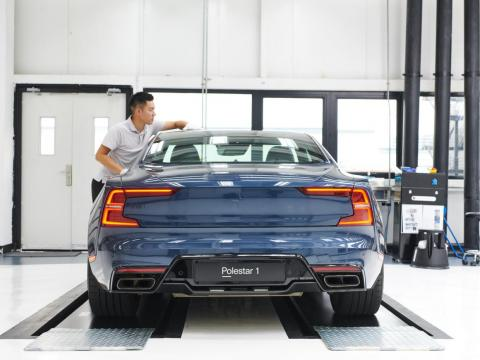 Reservations for the all-electric Polestar 2, designed to compete with the Tesla Model 3, can be made on their website.