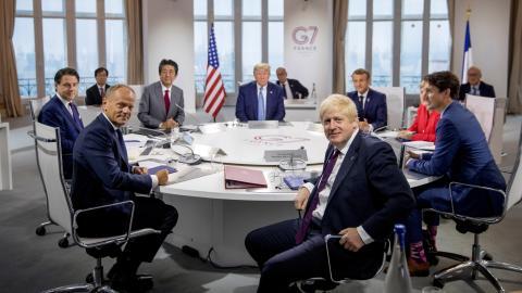 Reunión del G7.