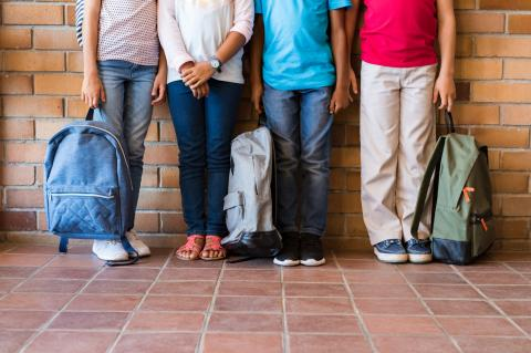 Ropa y calzado para niños en la vuelta al cole