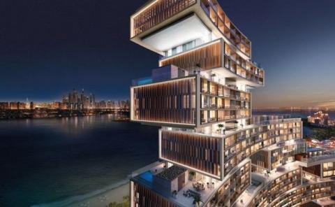 The Royal Atlantis, el hotel se ubica en la isla artificial de Palm Dubái.