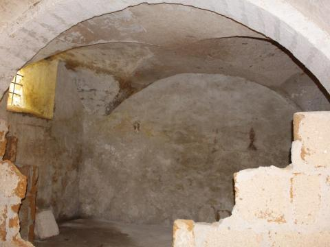 Sambuca is known for its Arab history, and many of the $1 homes have incredible curved ceilings like the one below, which is typical of Islamic architecture.