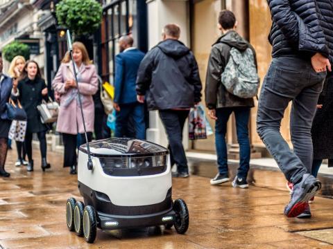 Un robot de Starship Technologies