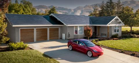Tesla Solar Roof: los mini paneles solares de Tesla que conforman un tejado