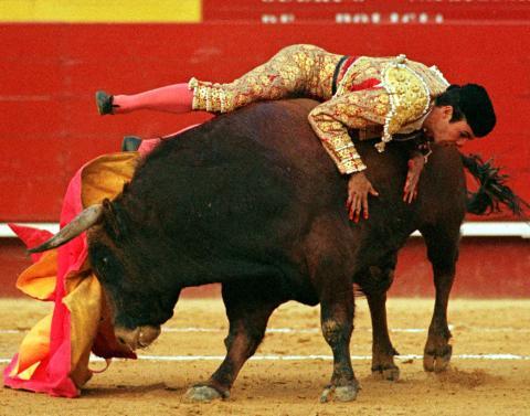 El torero José Tomas.