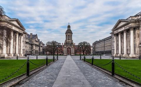 Trinity College en Dublín