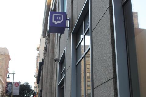 El cuartel general de Twitch en San Francisco, en la calle Bush.