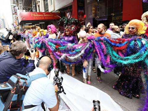 Ripley's Believe It Or Not! and Madame Tussauds teamed up to break the Guinness World Records title for the longest feather boa in June.