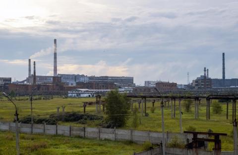 La planta de Usolyekhimprom en el sudeste de Rusia.