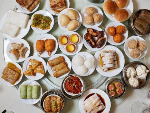 With 3,100 pieces of dim sum and 764 participants, each person could've eaten about four pieces of dim sum.