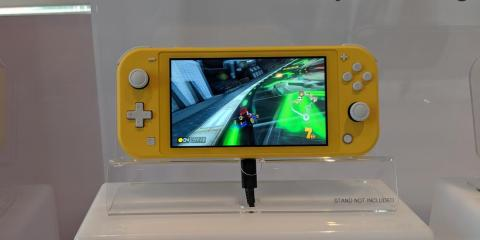 """Yellow has been a common color for Nintendo's handheld consoles in the past — the GameCube came in a yellow variation called """"spice."""""""