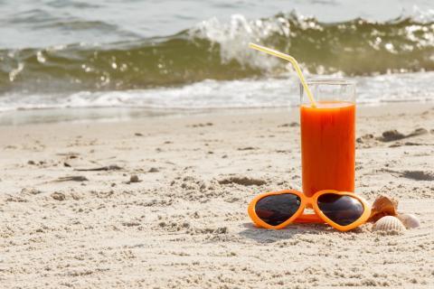 Las zanahorias ayudan a ponerse moreno en verano