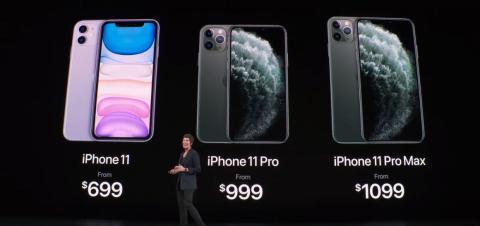 1. El iPhone 11 es sensiblemente más barato que los dos modelos de iPhone 11 Pro