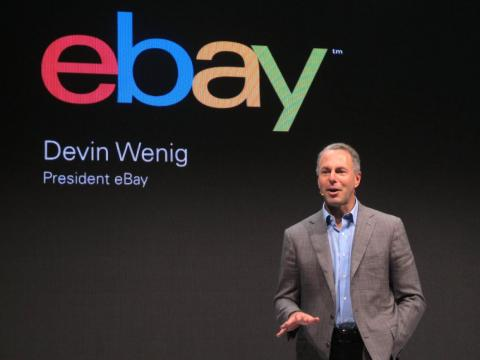 eBay presidente