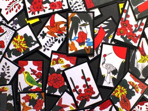 """Nintendo comenzó en 1889 como un fabricante de éxito de """"hanafuda"""", naipes japoneses hechos de papel rígido."""