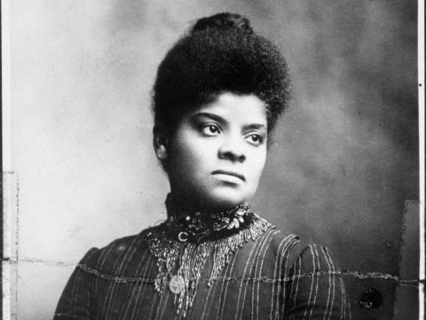 Ida B. Wells was one of the founders of the NAACP.