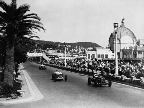 """In 1929, Enzo launched Scuderia Ferrari or """"Team Ferrari."""" There was no car company yet — Scuderia consisted of a group of drivers who raced the cars they owned."""
