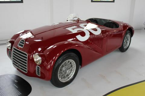 In 1947, Ferrari launched the 125. And since the noncompete agreement with Alfa had lapsed, this was the first car to carry the Ferrari name.