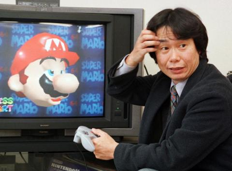 """In 1985, Mario got his big break. Miyamoto reinvented """"Donkey Kong"""" for the Nintendo Entertainment System and made Mario the star. The objective of the game remained the same: Rescue the girl, this time Princess Peach, and save"""