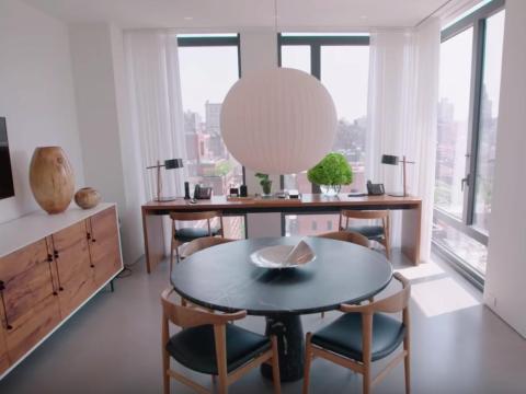 "Kors dijo que esta es la ""sala de estar"" para él y LePere."