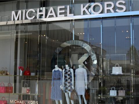 Una tienda Michael Kors.