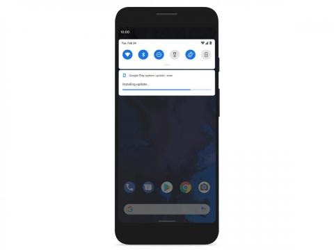 3. Android 10 phones will receive security updates like an app update in the Google Play store, making it faster and easier for people to get the latest security updates.
