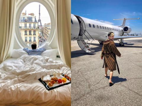 The 35-year-old sleep London native has napped everywhere from the deserts of the United Arab Emirates to presidential suites in Paris.