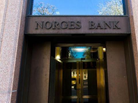4. Norges, banco central de Noruega.