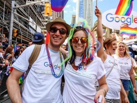 Google trabajadores