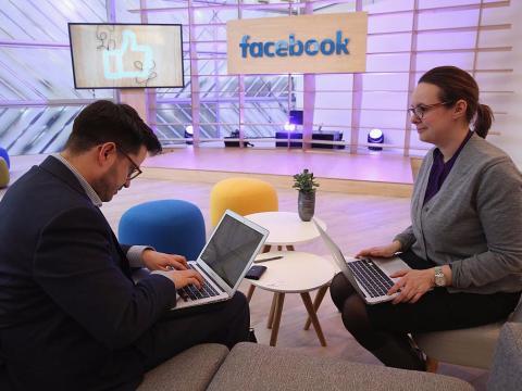 Facebook reunión oficinas