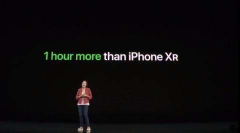 El iPhone 11 va a tener una increíble batería.