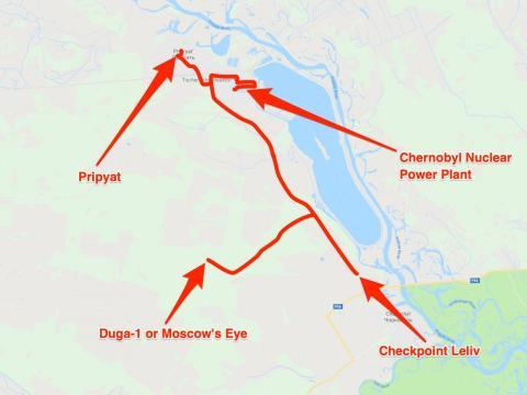 El viaje de Taylor Zwick a través de la zona de exclusión de Chernobyl con Chernobyl Tour.